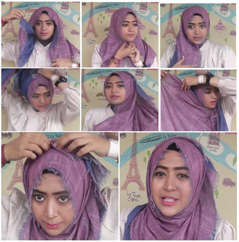 tutorial hijab pashmina terbaru 2015 tutorial hijab terbaru 2015 indo fashion