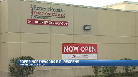 roper emergency room roper northwoods er reopens after hurricane matthew repairs wciv