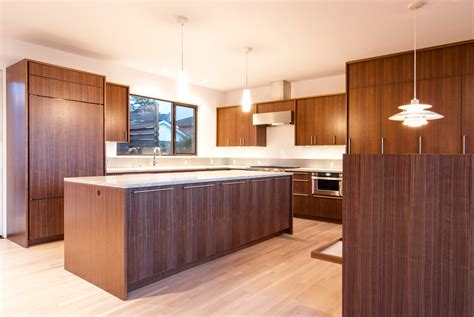 kitchen cabinets veneer walnut veneer kitchen cabinets interior design ideas