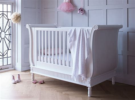 cot bunk beds bambizi belle sleigh cot bed