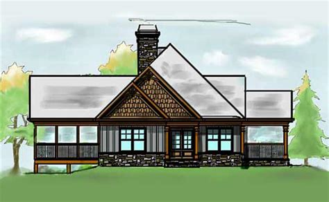 retreat house plans lake wedowee creek retreat house plan