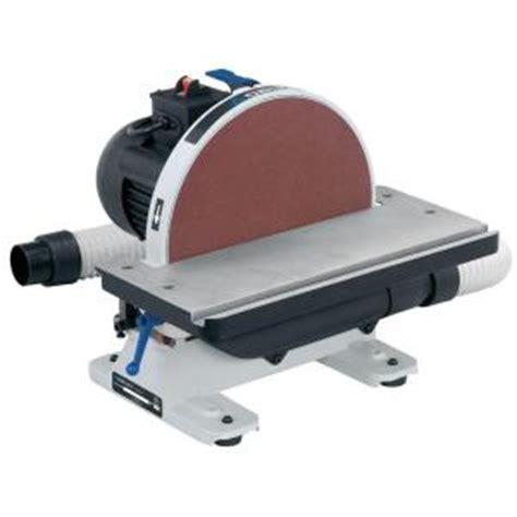 home depot bench sander delta 120 volt 1 2 hp 12 in disc sander 31 140 the home