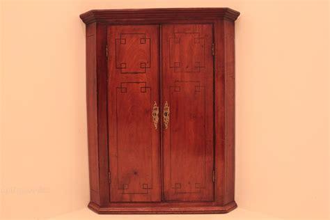 Mahogany 2 Door Hanging Corner Cabinet Antiques Atlas Hanging Cabinet Doors