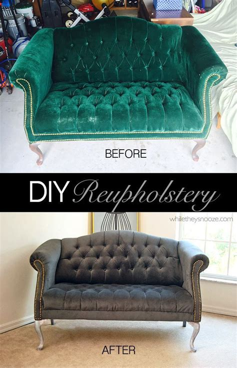 How To Recover A Tufted Sofa Memsaheb Net Diy Tufted Sofa