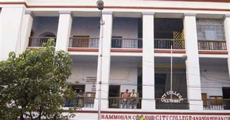 Evening Mba Colleges In Kolkata by Ananda Mohan College Am College Kolkata College Admission