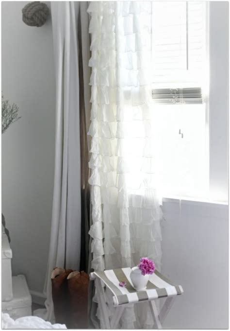 ruffle bedroom curtains 20 best bamboo blinds curtains images on pinterest cottage blinds and cottages