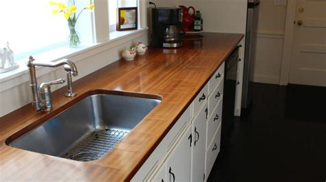 How To Build Kitchen Countertop by How To Make A Wooden Countertop Jon Peters Home