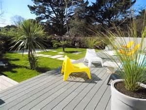 les extérieures design am 233 nagement au ch 226 teau d olonne en vend 233 e d un jardin
