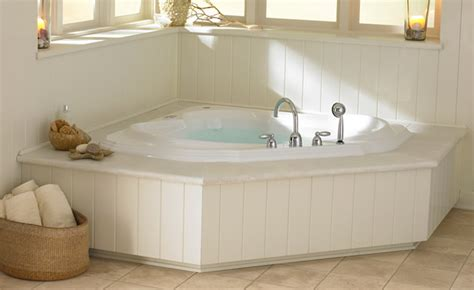 jacuzzi corner bathtubs jacuzzi bellavista luxury corner bathtub tubs and more