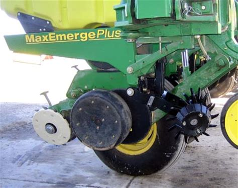 Planter Closing Wheels by Viewing A Thread White Planter Closing Wheels