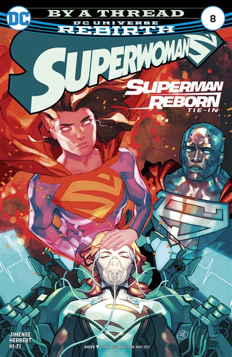 Superman Rebirth Dc Comic dc comics rebirth superman reborn spoilers superwoman 8 reveals what the new 52 superman