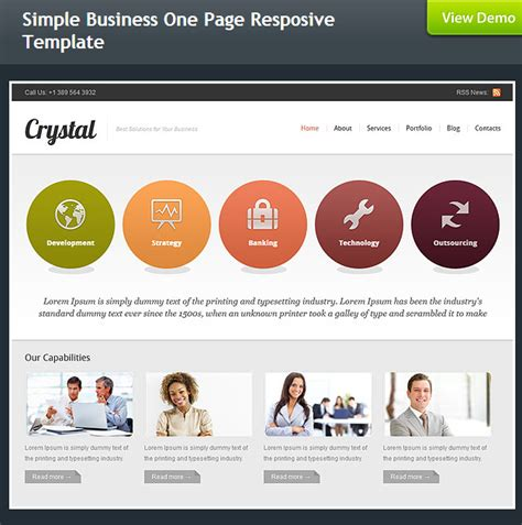 simple business website templates flash mint web templates bundle 12 premium templates for