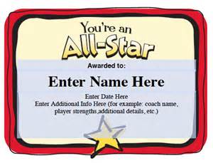 Softball Certificate Templates Free by Best Photos Of Certificates For Youth Baseball Players