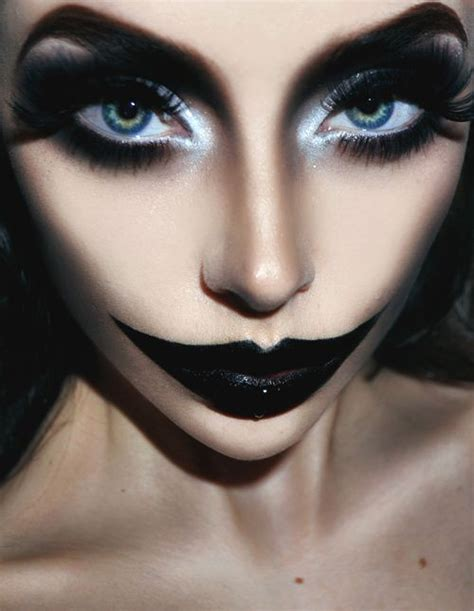 Black Halloween Makeup Ideas To Explore Your Darkest Side