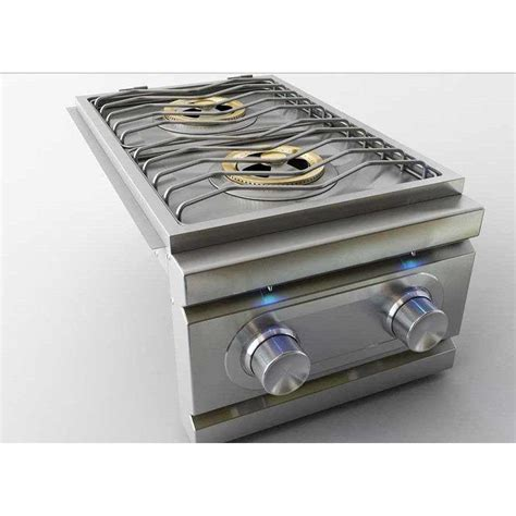 Lu Led Grill rcs grills stainless propane side burner slide in