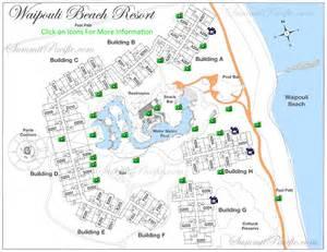 kauai resort map waipouli resort property map