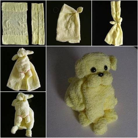 Towel Origami Animals - 293 best images about clothes crafts on