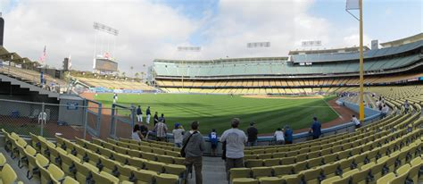 section 50fd dodger stadium dodger stadium panoramas cook sons baseball adventures