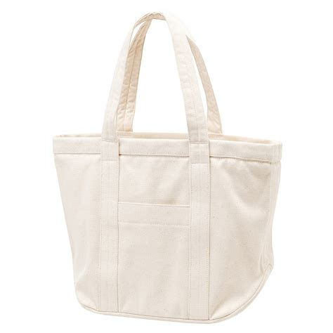 Canvas Tote Bag 6 organic cotton no 6 canvas tote bag white muji