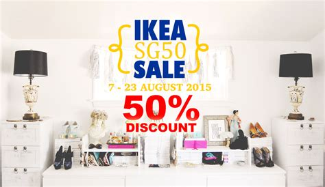 does ikea have sales ikea sale sg50 50 off