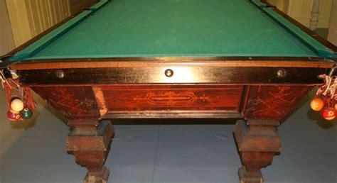 antique pool tables dr lori ph d antiques appraiser