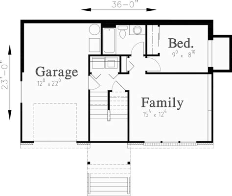 1 level house plans split level house plans small house plans