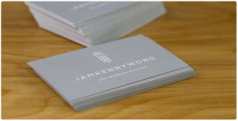Business Card Template Grey by Premium Grey Business Cards From Jukeboxprint