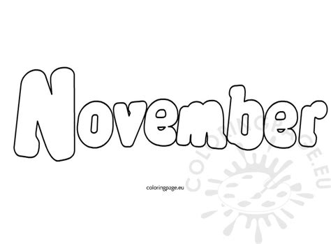 coloring pages for november november coloring page