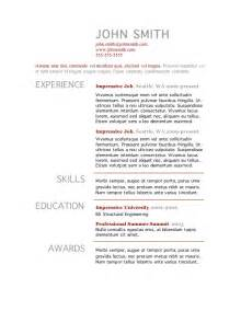 Merchant Teller Cover Letter by 9 Basic Resume Templates Microsoft Word Catering Simple Format Sle Free Template With Exper
