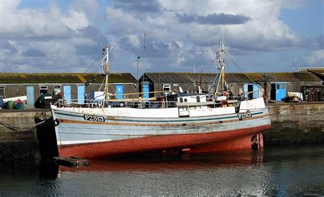 old wooden fishing boats for sale uk historic fishing vessel for sale for 163 1 history