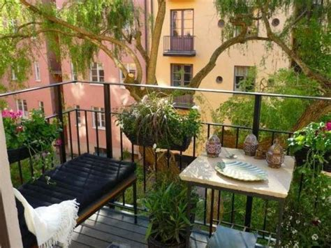 Gardening On A Balcony Apartment Terrace Design Ideas With Apartment Balcony