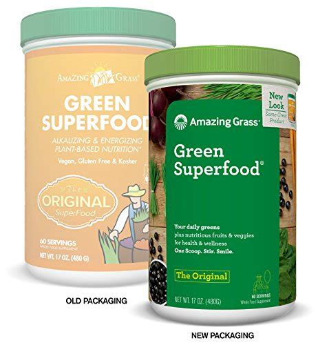 3 Day Detox Wheat Grass Green Superfood by Amazing Grass Green Superfood Original Powder 60