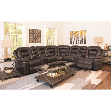 Cheers Sectional Sofa by Cheers Sofa Xw9296 Power Reclining Sectional With 2
