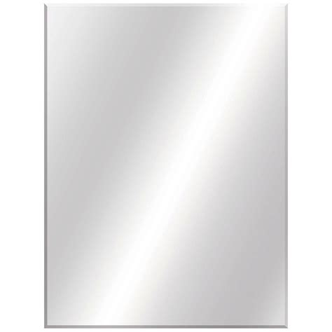 36 X 48 Bathroom Mirror Glacier Bay 36 In W X 48 In L Beveled Edge Bath Mirror 81179 The Home Depot