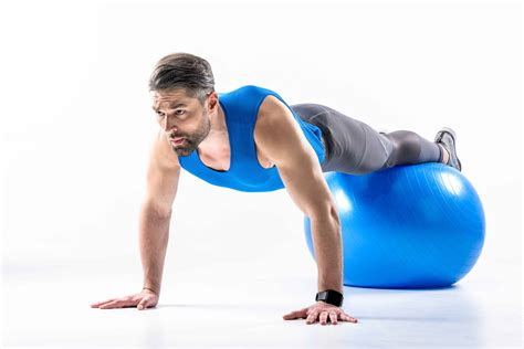 ways   exercise balls  crunches