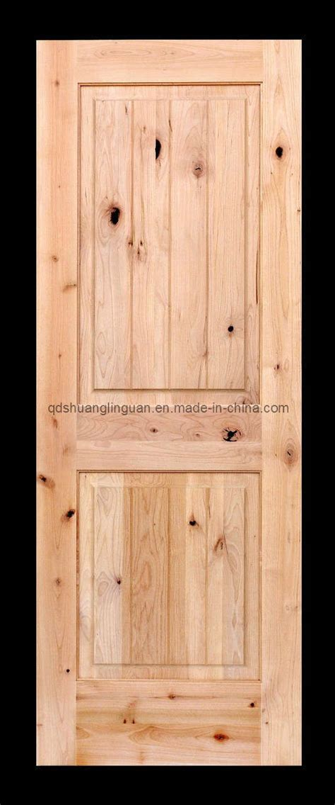 Alder Wood Doors by China Knotty Alder Solid Wood Door Sd 1 China Wood