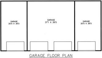 4 car garage size hanna 4 car garage plans