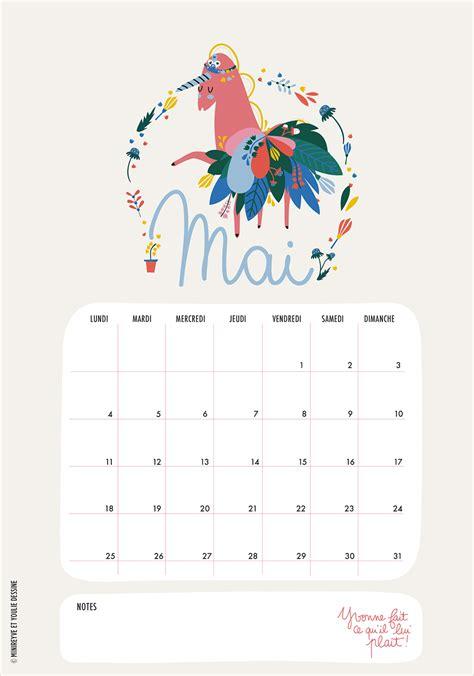 Calendrier à Imprimer Mai 2015 Calendriers Mensuels Mai 2015 224 Imprimer Gratuit C