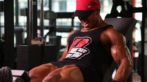 hd background bodybuilding gym arms thighs athlete