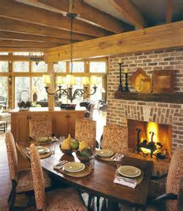 Dining Room Ideas With Fireplace Dining Rooms With Fireplaces The Decorating Files
