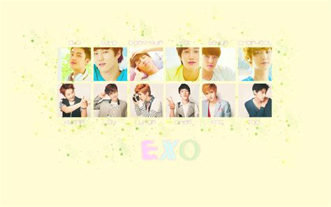 exo wallpaper with name exo wallpaper by luvkpop4eva