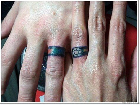 tattoo finger bands 20 beautiful wedding ring tattoos for finger