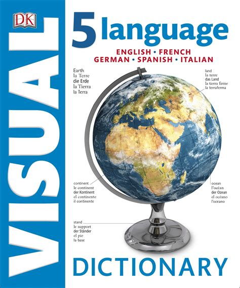 the book of multilingual edition books 5 language visual bilingual dictionary by dk penguin