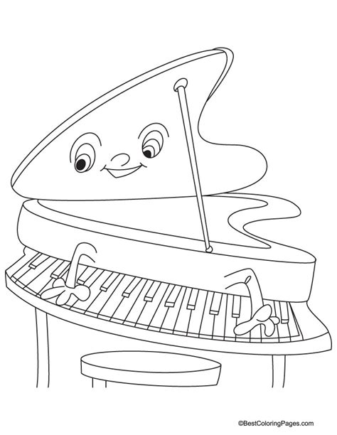 piano coloring pages piano coloring page free piano coloring page