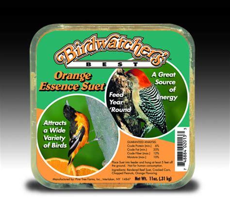 birdwatcher s best orange essence suet cake 11 oz 12 pack