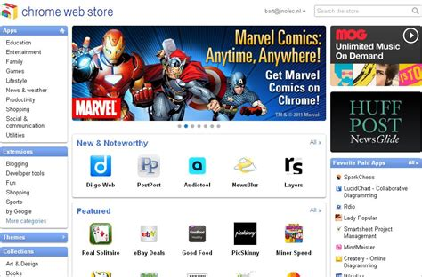 chrome google webstore google chrome web store bart van de casteel
