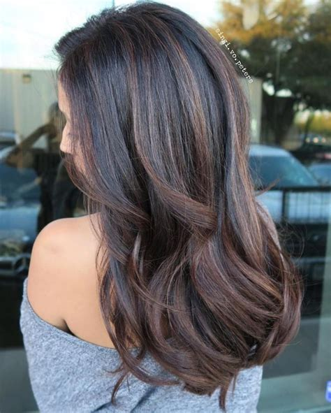 and black hair color ideas 70 flattering balayage hair color ideas for 2019