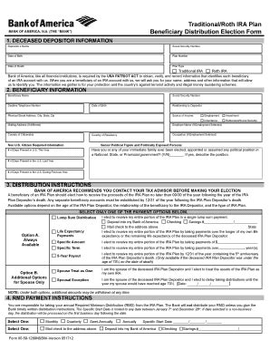 Bank Of America Beneficiary Letter Of Bank Of America Beneficiary Form Fill Printable Fillable Blank Pdffiller