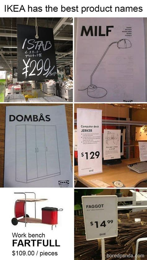 ikea names hilarious ikea related things you will only understand if