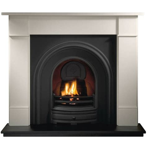 Brompton Limestone Fireplace by Gallery Brompton 56 Quot Agean Limestone Fireplace Crown